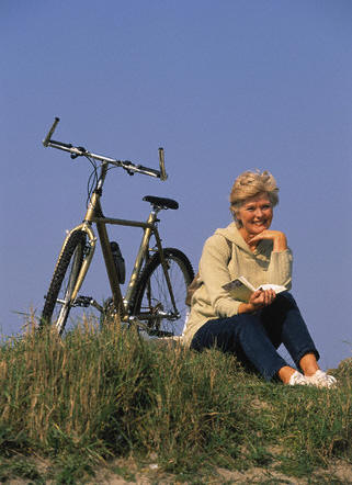 female cyclist 2